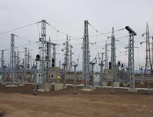Befejezés előtt a MÁV Szerencs 132/25kV-os transzformátor állomás teljes rekonstrukciója